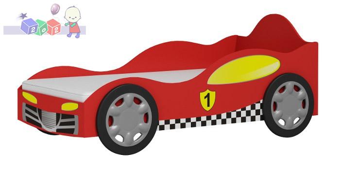 Łóżeczko samochód Super Speed z płyty laminowanej 188x98x84