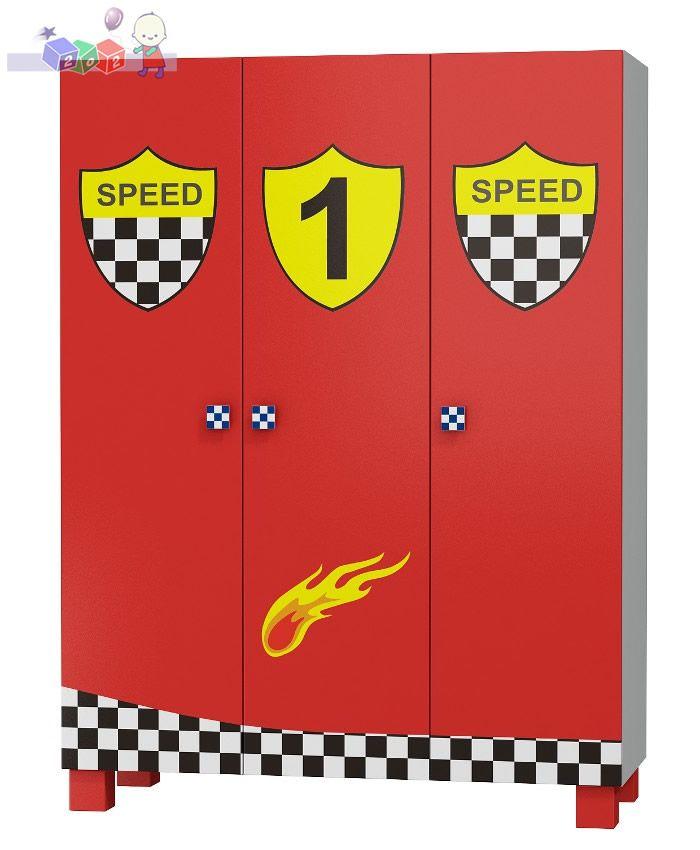 Duża szafa trzydrzwiowa kolekcja Super Speed 180x135