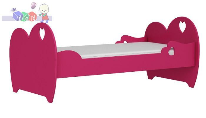 Łóżko Romantic do pokoju dziecięcego 164x94