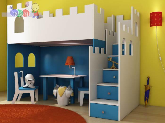 Dodatkowe okienka z boku i z tyłu do łóżka Zamek