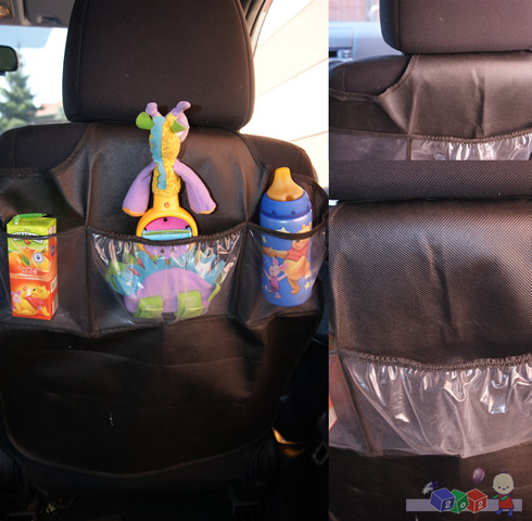 Organizer - pokrowiec na fotel samochodowy chroni przed zabrudzeniem tapicerki Caretero