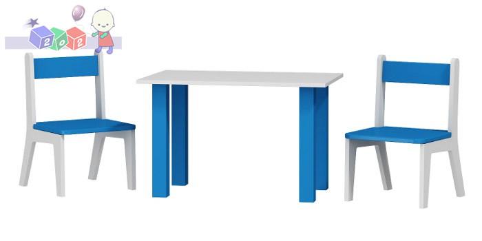 Stolik z dwoma krzesełkami  50x80x54h