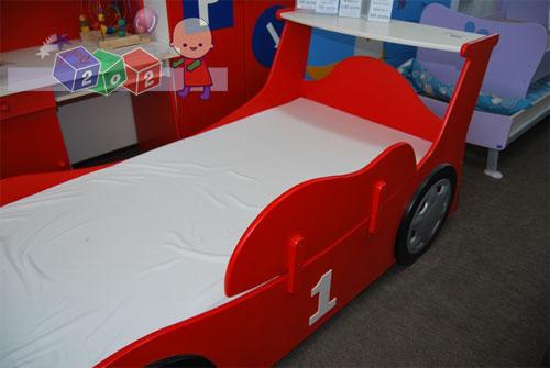 Zabezpieczenie boczne do łóżka Samochód BabyBest