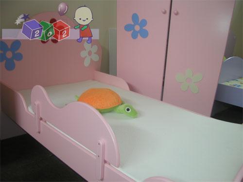 Boczne zabezpieczenie do łóżka dziecięcego Baby Best Flower