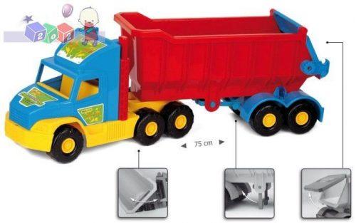 Duża i wytrzymała zabawka Super Truck wywrotka - Wader 36400