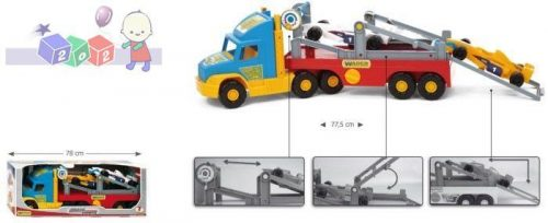 Duży truck z możliwością przewożenia formuły Wader 36620
