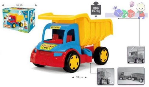 Bardzo duża wywrotka - Gigant Truck Wader 65000