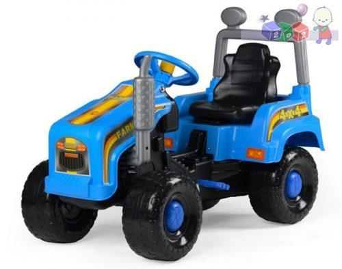 Mega traktor na pedały - duży pojazd dla dziecka firmy BJ Plastik