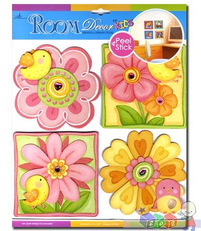 Sticker Boo - dekoracja ścienna kwiaty