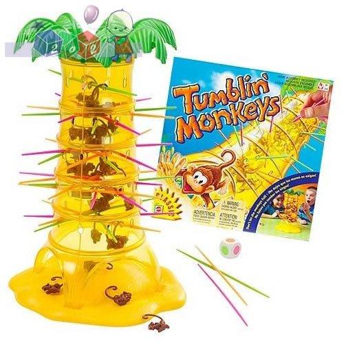 Super gra rodzinna Spadające Małpki Mattel