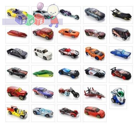 Małe samochodziki Hot Wheels 1 szt. - mix wzorów