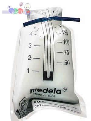 Torebki na pokarm, przechowywanie pokarmu 20 szt 150 ml