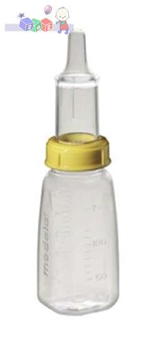 Medela Specjalistyczna butelka ze smoczkiem wyposażona w zawór separujący