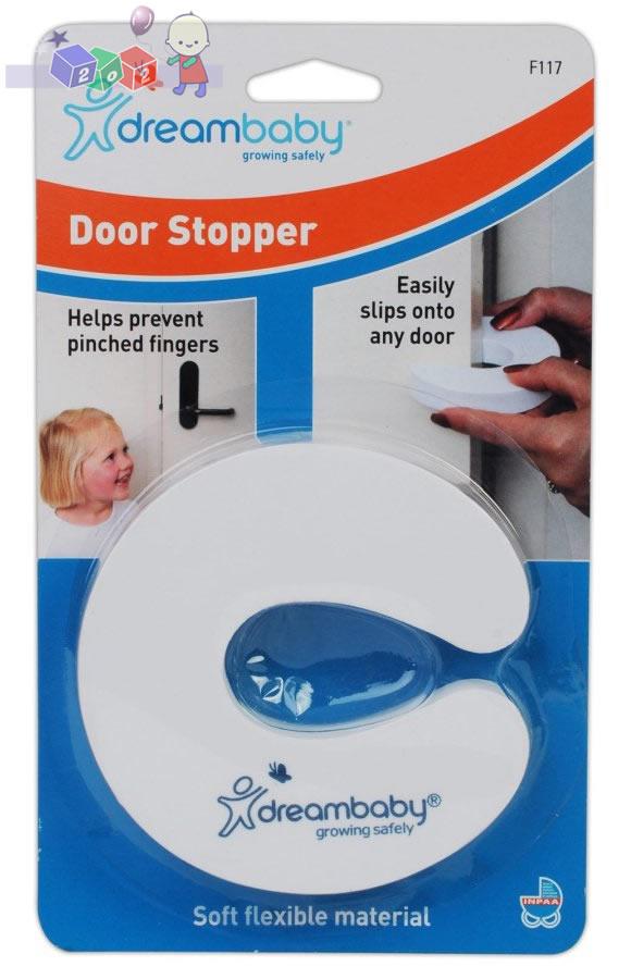 Elastyczna nakładka zabezpieczająca drzwi przed zamknięciem Dreambaby