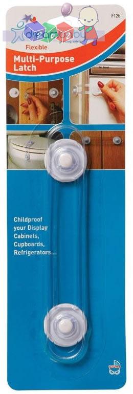 Uniwersalna wielofunkcyjna przyssawka zabezpieczająca szafki oraz urządzenia przed dziećmi Dreambaby