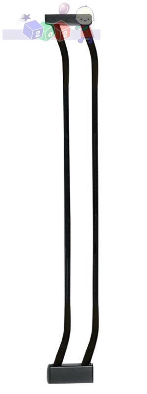 Rozszerzenie do bramki bezpieczeństwa Dreambaby wys. 75 cm o szerokości 9 cm F159B czarne