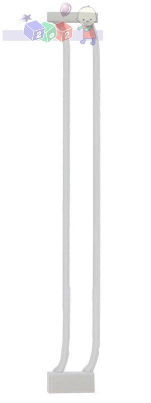 Rozszerzenie do bramki bezpieczeństwa Dreambaby wys. 75 cm o szerokości 9 cm F159W białe
