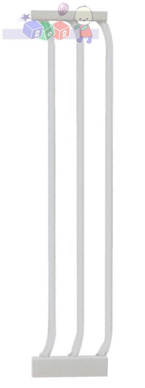 Rozszerzenie do bramki bezpieczeństwa Dreambaby wys. 75 cm o szerokości 18 cm F171W białe