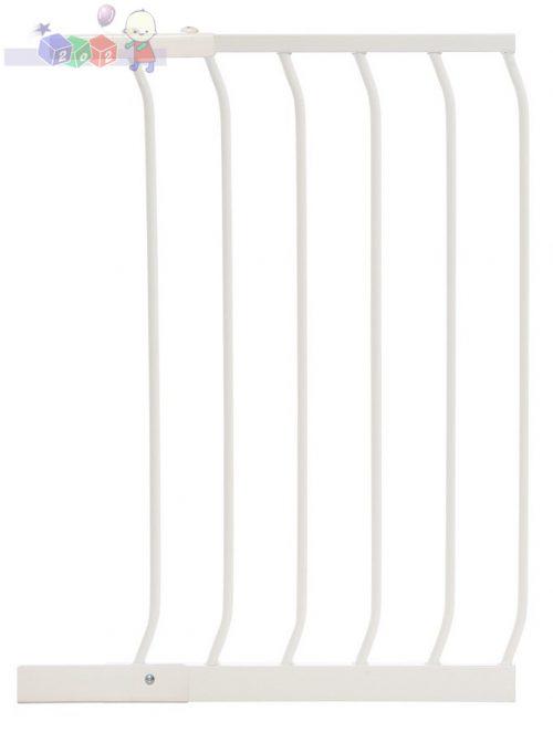 Rozszerzenie do bramki bezpieczeństwa Dreambaby wys. 75 cm o szerokości 45 cm F832W białe