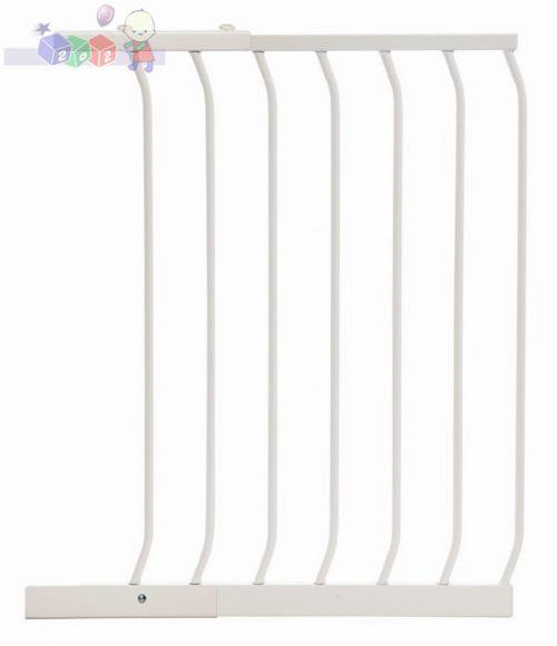 Rozszerzenie do bramki bezpieczeństwa Dreambaby wys. 75 cm o szerokości 54 cm F833W białe