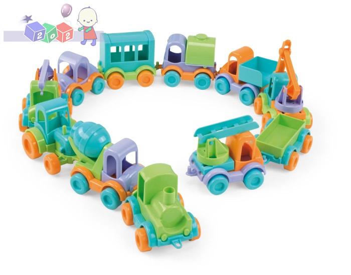 Małe autka Friends on move Wader 54050 - różne rodzaje