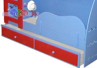 Zabezpieczenie dolnego łóżka Fala