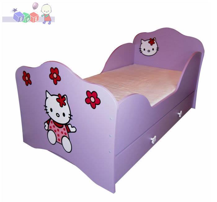 Wzmacniana szuflada do łóżeczka kotek