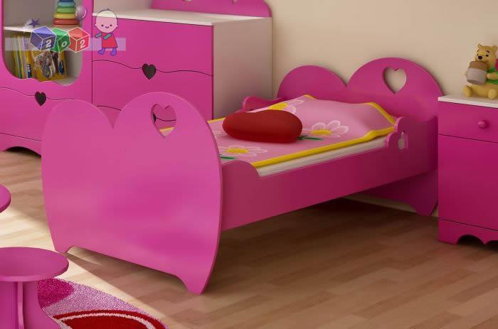 Powiększone łóżko Romantic do materaca 200x120 cm
