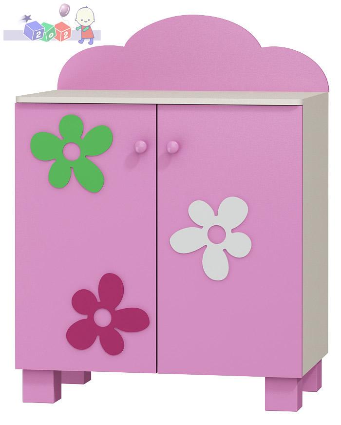 Szafka 2-drzwiowa Baby Best z kolekcji Flower 118x91x54 cm