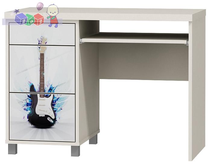 Młodzieżowe biurko bez nadstawki Music baby best 76 x 101 x 60 cm
