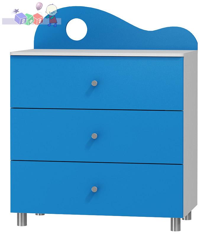 Komoda  3 szuflady nemo Baby best 110x91x54