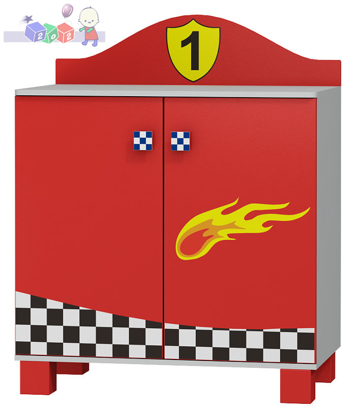 Szafka dwudrzwiowa Super Speed Baby Best 112x91x54