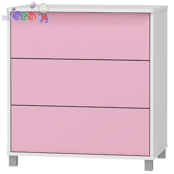 Komoda 3 szuflady 86x81x54 BabyBest kolekcja Young