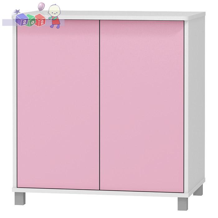 Szafka 2-drzwiowa z kolekcji Young mebli BabyBest 86x81x54 cm