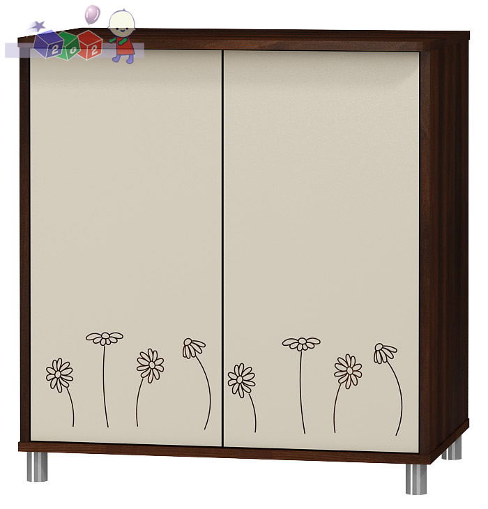 Dwudrzwiowa szafka - komoda z kolekcji Daisy meble Baby Best 86x81x54 cm
