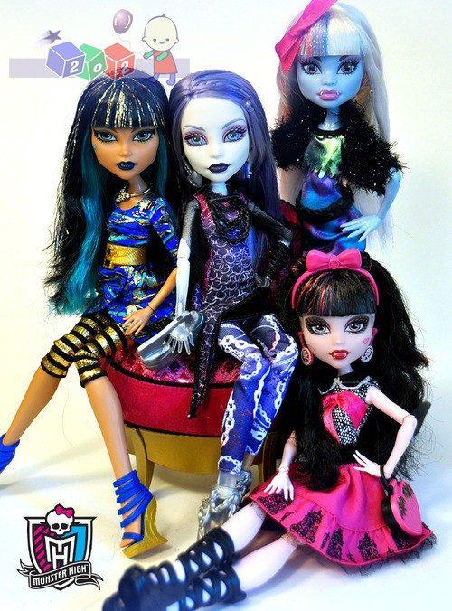 Upiorni uczniowie lalka Monster High + akcesoria
