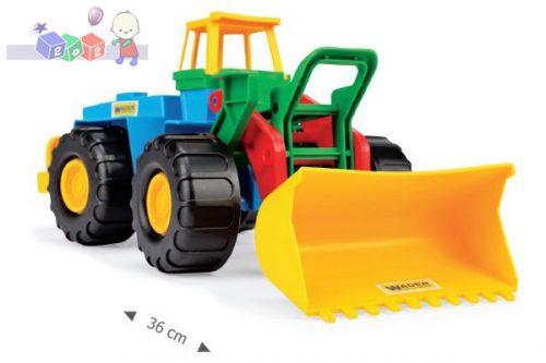 Zabawka dla dziecka - samochód ładowarka 36 cm z ruchomą łyżką Wader 35100