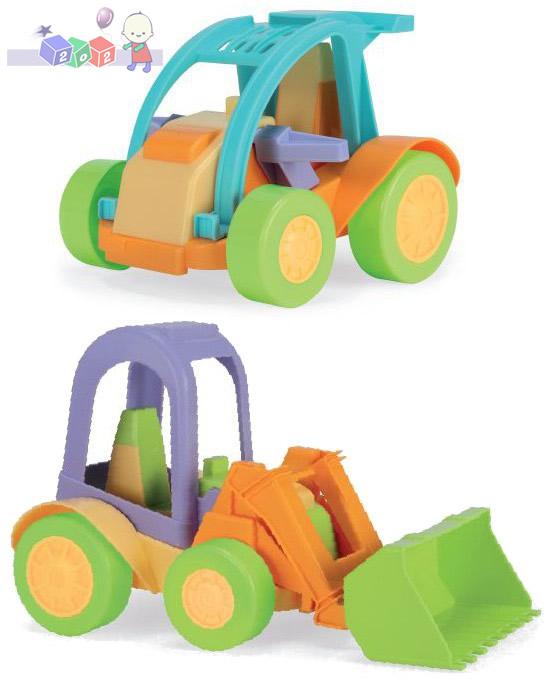 Autko i traktorek z serii zabawek Friends on the Move Wader 54061