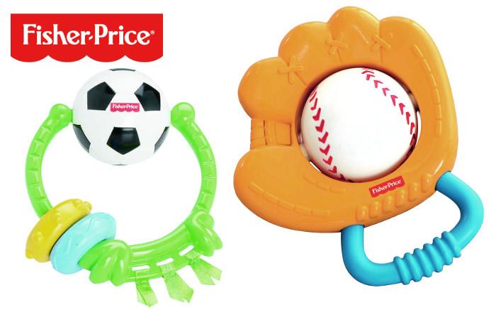 Grzechotki sportowe Fisher Price - 2 wzory