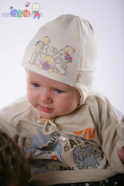 Czapeczka niemowlęca Zoo For You
