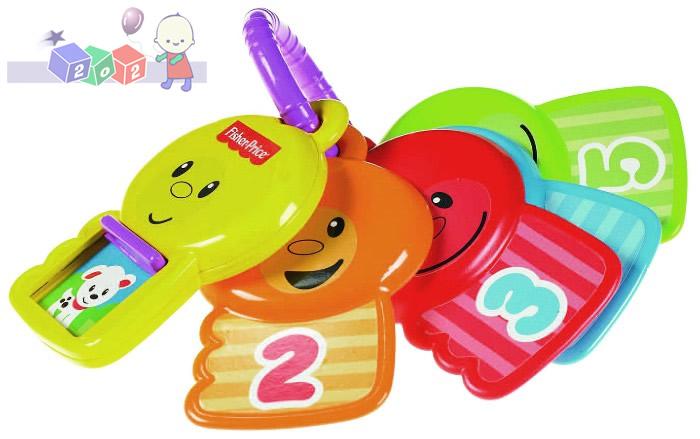 Kluczyki liczyki - zabawka edukacyjna dla niemowląt Fisher Price Y4294