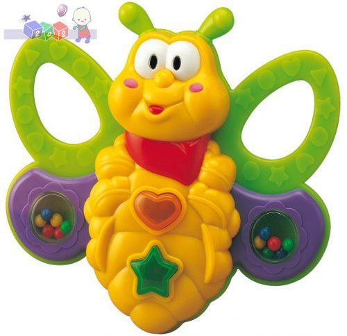 Zabawka dla dzieci - pszczółka Ela Smily Play z gryzakami i grzechotkami