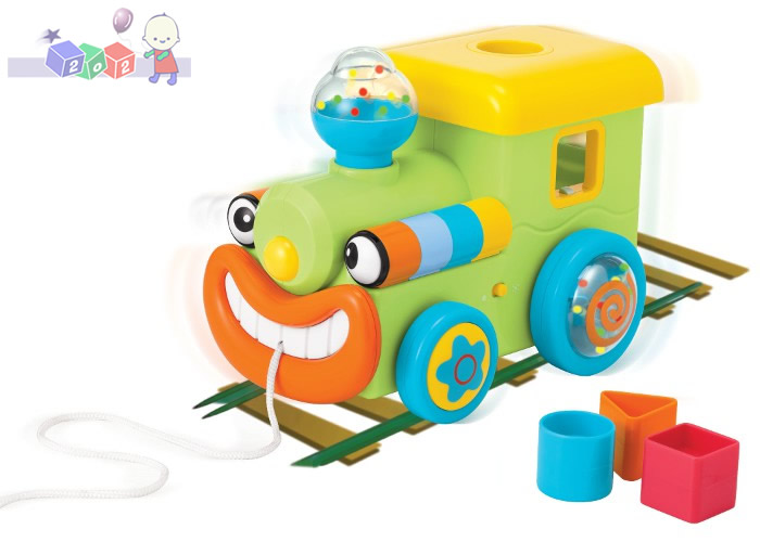Sorter klocków - lokomotywa Smily Play