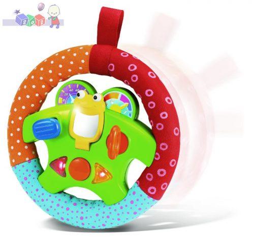 Moja pierwsza kierownica Smily Play - interaktywna zabawka dla dzieci 3m+