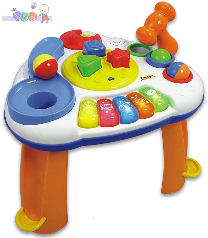 Aktywny stoliczek z piłeczkami Smily Play - interaktywna zabawka dla dzieci