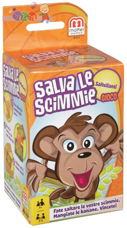 Mattel - Skaczące małpki mini