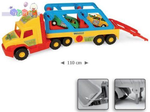Super Truck z autkami Wader 36640