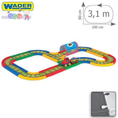 Kid Cars - Kolejka 3,1 m Wader 51701