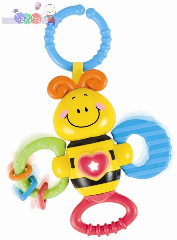 Wesołe zwierzaki - pszczółka Smily Play - zabawka interaktywna z gryzakami