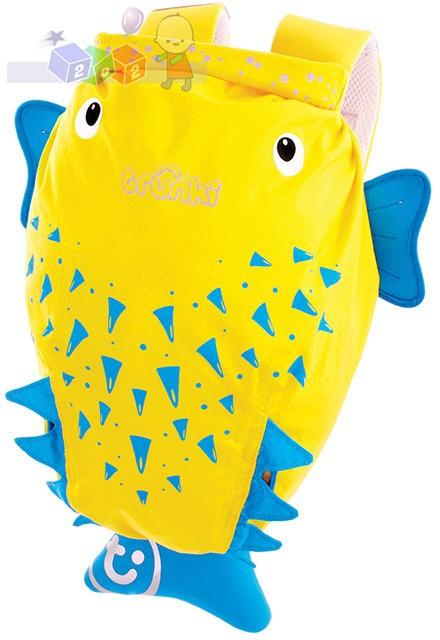 Plecak wodoodporny Trunki - Ryba rozdymka Spike